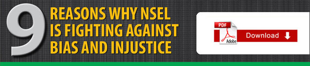 REASONS WHY NSEL IS FIGHTING AGAINST BIAS AND INJUSTICE